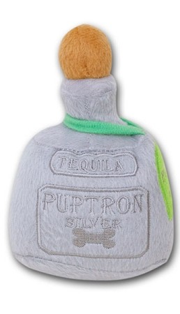 Puptron Silver Tequila Dog Toy