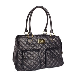 Quilted Dog Satchel by Dogs of Glamour