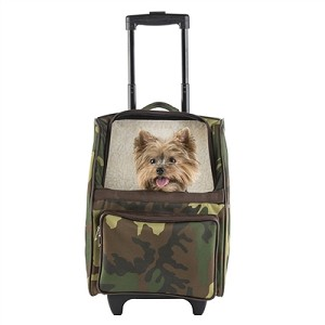 Rio Rolling Multifunctional Dog Traveler- Camouflage