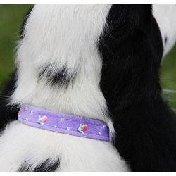 Rosebud Swarovski Crystal Dog Collar - 20 Colors