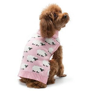 Sheep Dog Sweater- Pink