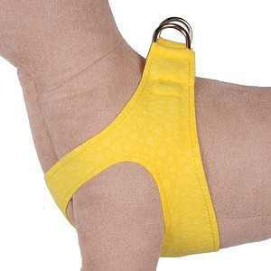 Simplicity Ultrasuede Step-In Dog Harness- Sunshine Drops