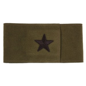 Star Wizzer Bellyband by Susan Lanci- Olive