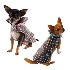 Sundae Polka Dot Slicker Raincoat