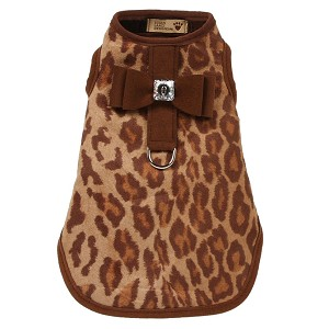 Big Bow Bailey Harness Dog Coat- Savannah Brown