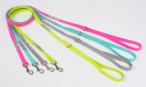 Crystal Rocks Dog Leash - 20 Colors