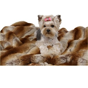 "Susan Lanci 55"" Dog Blanket - 9 Colors"
