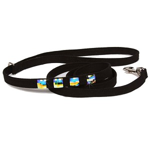 Private Collection Swarovski Crystal Dog Leash - 20 Colors
