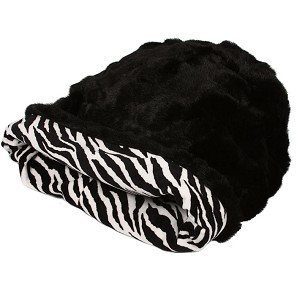 Cuddle Cup Dog Bed - Zebra
