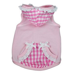 Sweet Tooth Gingham Dog Hoodie