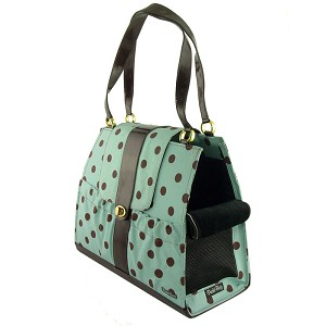Tiffany Dots Dog Carrier Purse