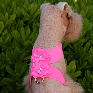 Tinkie's Garden Swarovski Crystal Dog Harness- 20 Colors