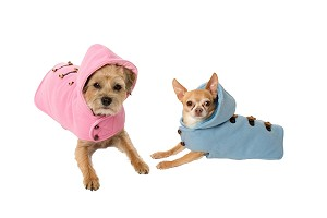 Toggle Hooded Coat by Canine Styles- 2 Colors