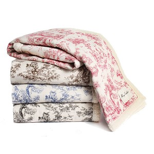 Toile Blanket by Harry Barker