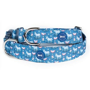 Vineyard Vines Donkey Democrat Dog Collar